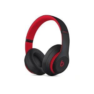 BeatsStudio³ Wireless Over-Ear Headphones - Decade Collection - Defiant Black & Red
