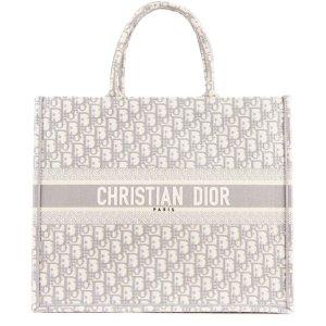 Dior暂时缺货灰色 Book Tote