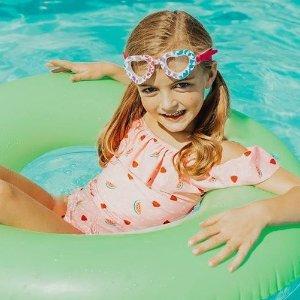 低至6.7折 $10收花样护目镜AQUA2UDE 防雾儿童游泳镜 玩水游泳装备