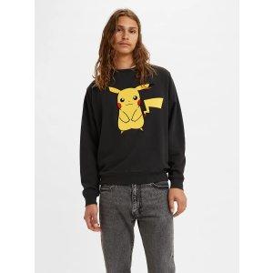 Levi's30% off $100® X Pokemon Unisex Crewneck Sweatshirt