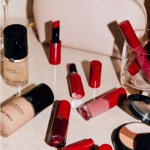 最高送7件套 + 新用户享9折新春独家:Giorgio Armani 全场护肤品彩妆促销 香水套装7折