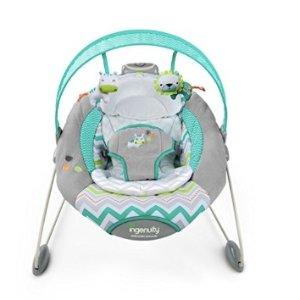$37 (原价$59.99)史低价:Ingenuity SmartBounce  婴儿电动摇篮