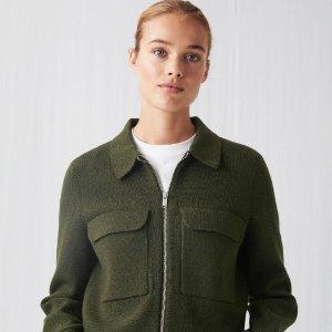 白系列+墨绿系列 品质+版型=气质ARKET 高端慢时尚品牌热卖 气质女人首选