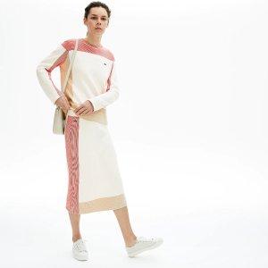LacosteWomen's Colorblock Pencil Skirt
