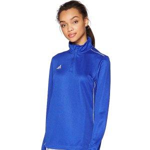$18.91(原价$40.00)adidas 女款运动长袖上衣 多色可选