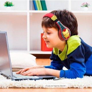 低至$8.49 内置音量限制功能eKids 多款卡通造型专业儿童耳机清仓促销