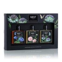 NEST Fragrances 旅行装沐浴乳套装 - 午夜鸢尾、大丽花和葡萄、靛蓝花