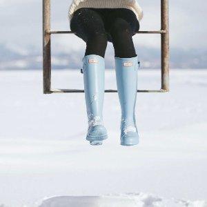 低至6折 收糖果色雨鞋HUNTER BOOTS 官网雨鞋/雨衣/雨伞/凉拖等热卖