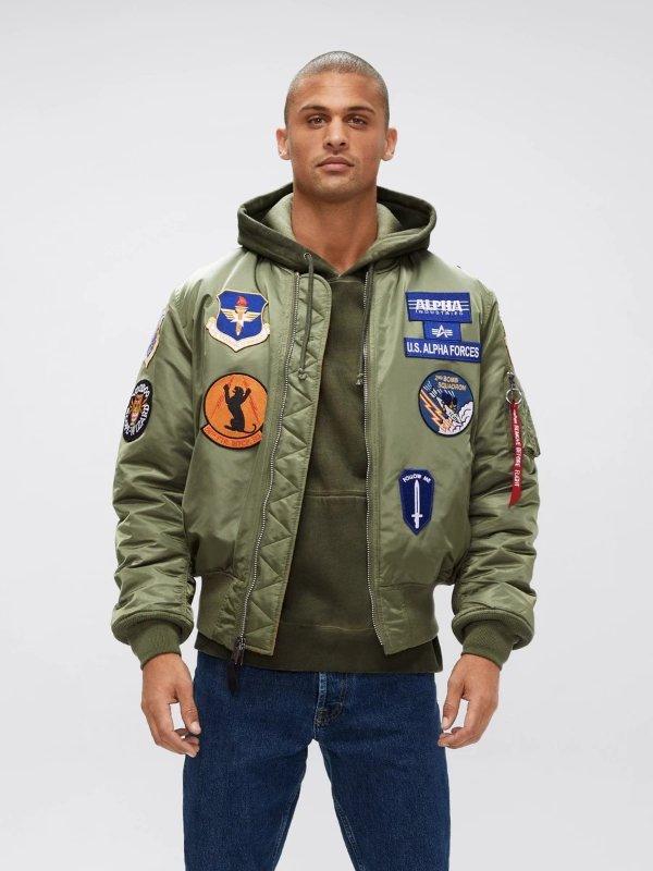 新款飞行员夹克