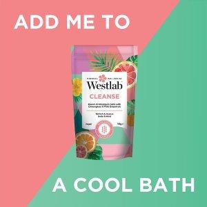 低至5折 €3.95收清洁浴盐Westlab 英国小众护肤 收王牌死海浴盐 修复肌肤 洗出嫩滑肌