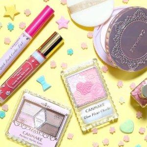 好用不过百元 学生党必入Canmake 日本平价彩妆惊喜上线  收花瓣腮红、棉花糖粉饼