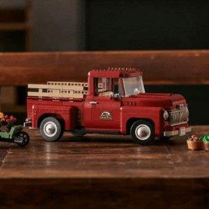 $139.99 预订 + 送礼10/1发售LEGO 2款皮卡车系列套装曝光 复古皮卡 & 福特猛禽F-150