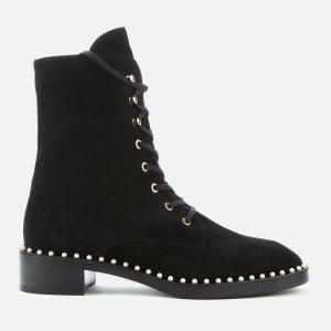 Stuart Weitzman杨幂同款珍珠靴珍珠靴