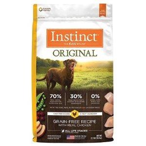 25% OffInstinct Selected Dry Dog Food on Sale
