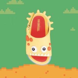 低至3.6折 大量新款码全上新:Mini Melissa 童鞋促销 果冻质地,软萌可爱 男童款也有