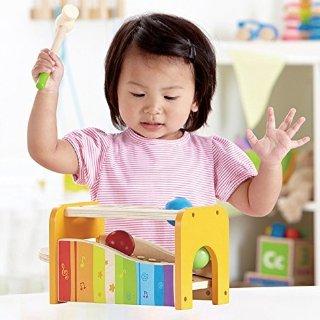 低至$12.22Hape 德国高品质儿童木质玩具特卖,收双面爬行垫