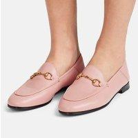 Gucci 樱花粉乐福鞋