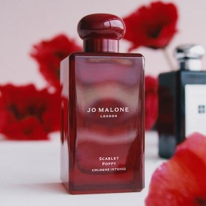 $36起+送香水8件套+免邮Jo Malone London 春季馥郁系列新香开售 收绯红罂粟