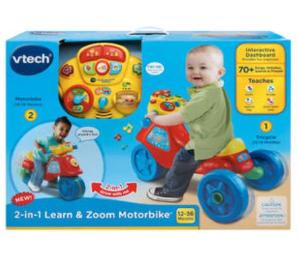$25(原价$49.95)Vtech 2合1 三轮/二轮音乐学习骑行小车