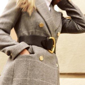 7.5折,特价款折上折最后一天:Club Monaco 秋冬拗造型必备大衣促销,收泰迪熊大衣