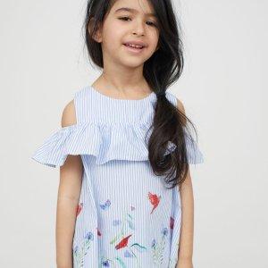 漂亮小裙子只要$1.99H&M官网 春夏新款童装清仓区上新,低至2折