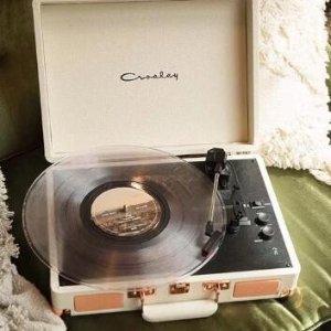 照片打印机$39.99 唱片机仅$59Crosley 娜比同款蓝牙唱片机 清新家居小物热卖