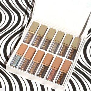 $195(Valued $288 )+Free Mini Liquid EyelinerBrilliantly Bright Liquid Eye Shadow Vault @ Stila Cosmetics