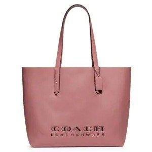 Coach需使用折扣码OMG粉色tote包