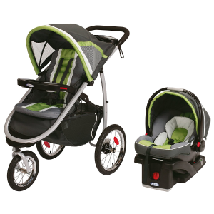 $379Graco Fast Action 婴儿推车 + 汽车安全座椅套装