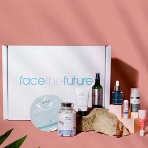 2.8折!价值£415!手慢无!Face The Future 美妆盒子大促!含9件精选明星产品!