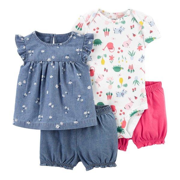 宝宝服饰4件套