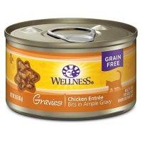 Wellness 纯天然无谷鸡肉味猫罐头 3oz