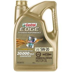 Castrol嘉实多 EDGE 5W-20 高长效 全合成机油