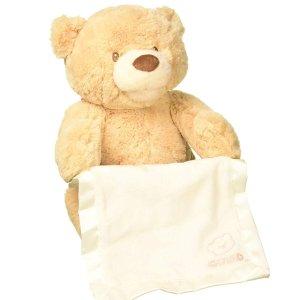 $12.43(原价$40)Gund Peek-A-Boo 可爱捉迷藏互动熊熊
