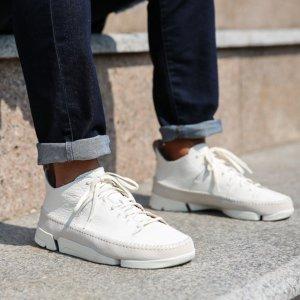 无门槛8折CLARKS ORIGINALS 英伦风舒适男女休闲鞋热卖