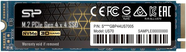 2TB NVMe 4.0 Gen4 PCIe M.2 固态硬盘