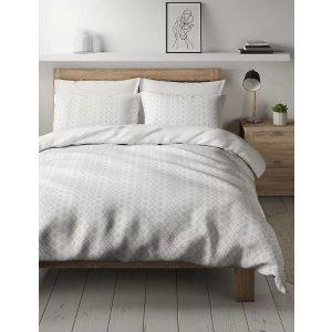 Marks&Spencer纯棉印花床上用品套装