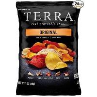 TERRA 海盐口味混合薯片 1 oz. 24包