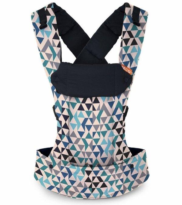 Gemini 四式婴儿背带 蓝色几何格