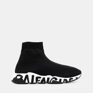 BalenciagaSpeed Graffiti 女式袜子鞋