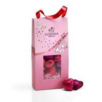 Godiva 情人节袋装心形巧克力,20个