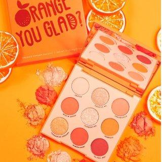 全场8折 新品眼影盘仅$9.6上新:ColourPop 元气活力橙系列彩妆 夏日果汁妆必备