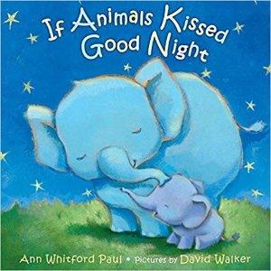 如果动物也亲吻晚安