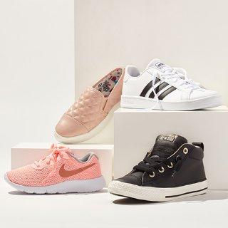 2折起Nordstrom Rack 儿童运动鞋促销 大童款成人可穿