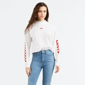 Levi'sGraphic Long Sleeve Baby Tee