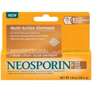 Neosporin + Pain, Itch, Scar Antibiotic Ointment, 1 Oz - Walmart.com