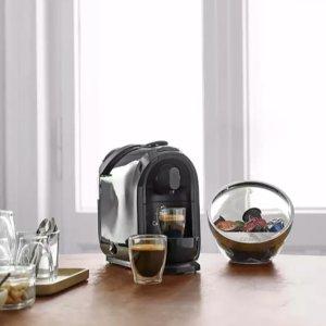 折后仅€49 原价€111 额外送8颗胶囊!TCHIBO 咖啡机+奶泡机 一套就搞定 美味咖啡在家做!