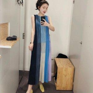 COS彩虹针织裙