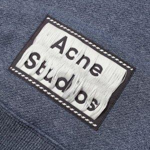 满$175立减$25Acne Studios 高街水洗T 男女皆可 极简短袖 情侣款随心配