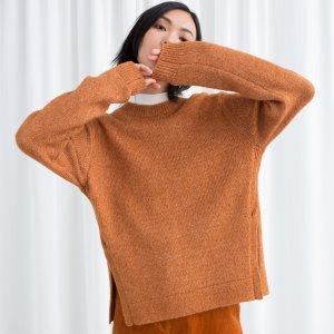 低至3折+额外9折!£16收毛衣最后阶段:& Other Stories全场大促 毛衣,外套收起来
